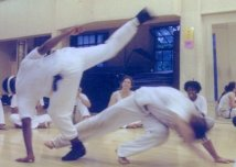Capoeira class at UC Berkeley